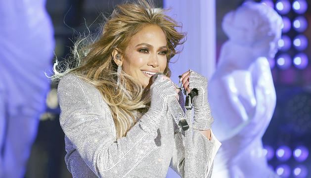 L'actriu i cantant Jennifer Lopez.