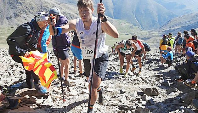 Arnau Soldevila va acabar en 46è lloc a Núria.