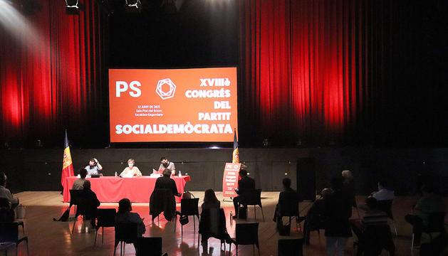 El congrés socialdemòcrata celebrat dissabte passat.