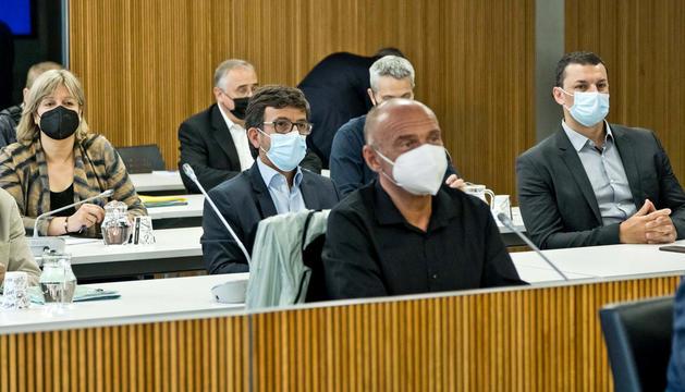 Diversos membres que integren la comissió.
