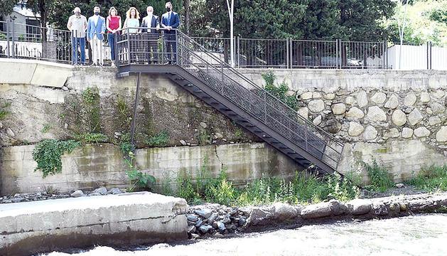 Acord per restaurar el riu després d'obres