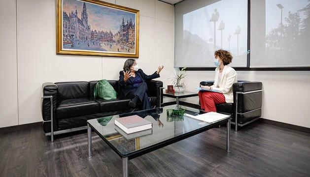 Visita de l'Ambaixadora de Canadà a Andorra