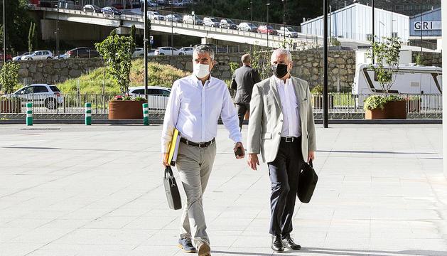 El judici va seguir ahir amb la tercera jornada de declaració de Joan Pau Miquel.