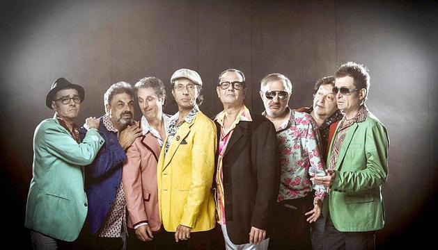 El grup musical 'Los Manolos'.