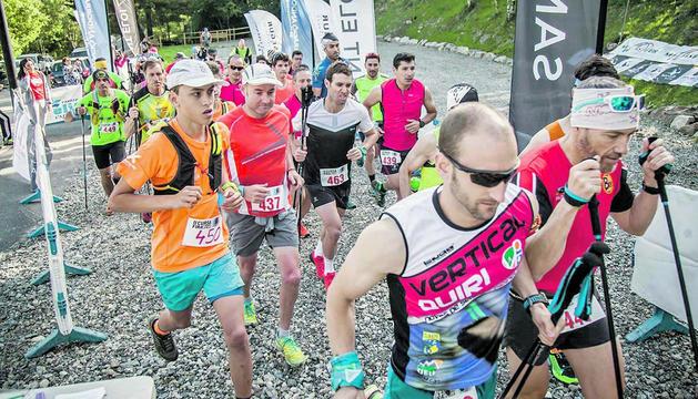 Segona edició de la cursa de Sant Bernabé, el 2017