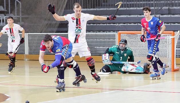 Caldes, Hockey Sarzana i Girona, a les semifinals (6-2)