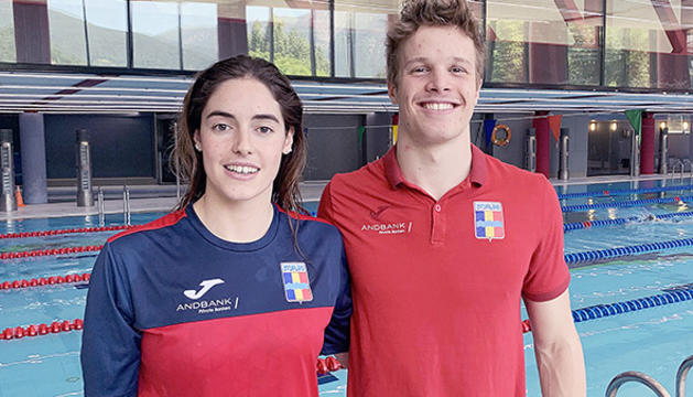 Nàdia Tudó i Bernat Lomero.