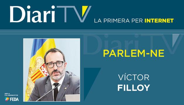 Entrevista amb Víctor Filloy a les 20h