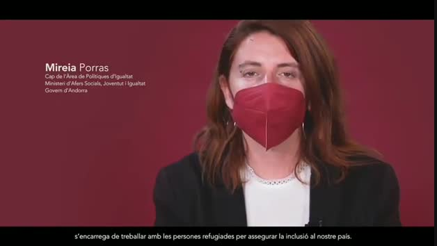 Audiovisual per commemorar el Dia mundial de les persones refugiades