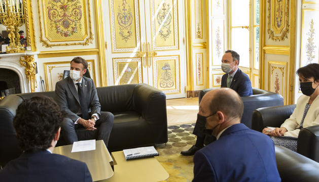 Trobada d'Espot, Suñé i Macron