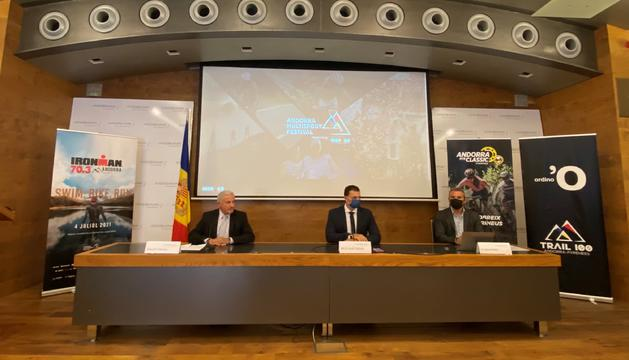 Presentació de la col·laboració d'Andbank amb l'Andorra Multisport Festival