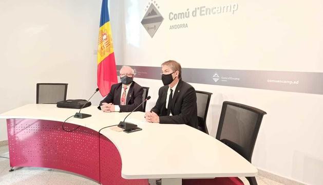Enric Riba ha preguntat pel futur del FC Andorra i de Prada de Moles