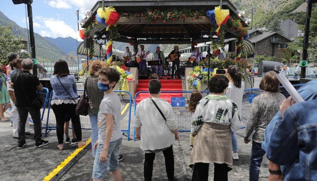 Los Manolos, al concert de la Festa del Poble
