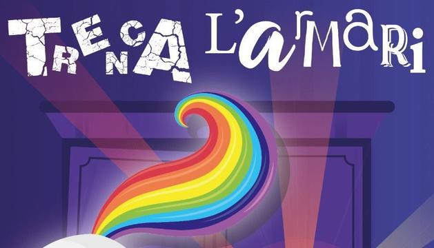 Cartell dels actes de diumenge del col·lectiu LGTBI