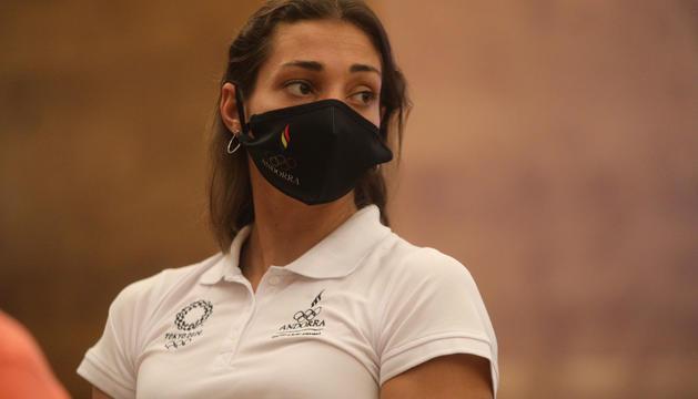 Mònica Doria serà la banderera als Jocs