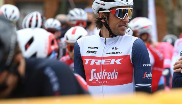 Koen de Kort, el ciclista afectat