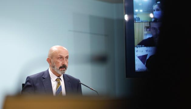 El ministre Joan Martínez Benazet aquesta tarda