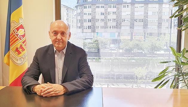 El nou president de la Cambra de Comerç, Josep Maria Mas.