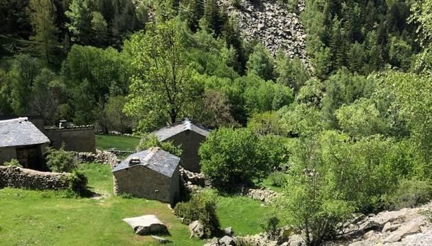 Bordes de Ramio a la vall del Madriu