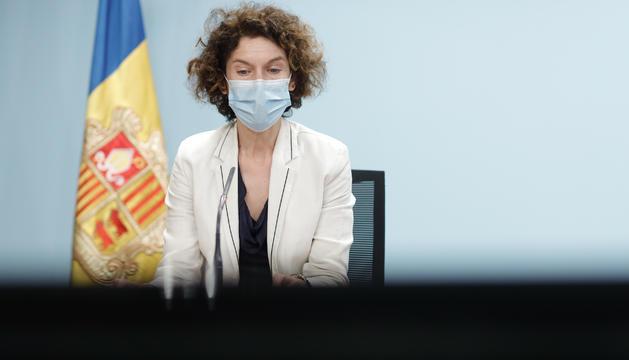 La ministra d'Afers Exteriors d'Andorra, Maria Ubach,