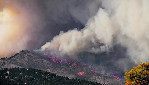 El paper del canvi climàtic en els incendis