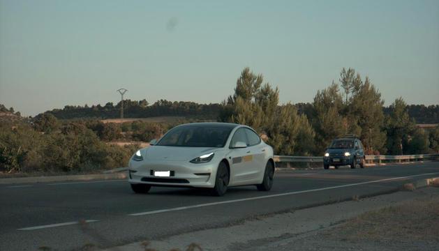 Els mossos van denunciar el conductor.