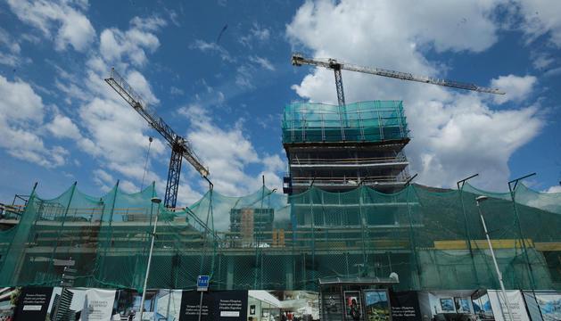 La construcció va ser l'únic sector que no es va contraure el 2020.