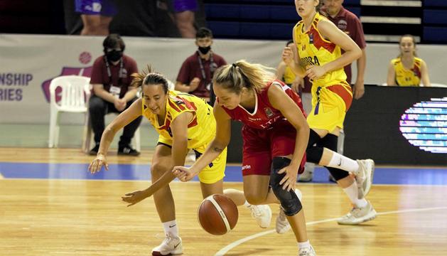 La selecció femenina va sumar una nova derrota a Xipre.