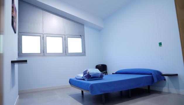 Una de les habitacions per a vis-a-vis del centre penitenciari.