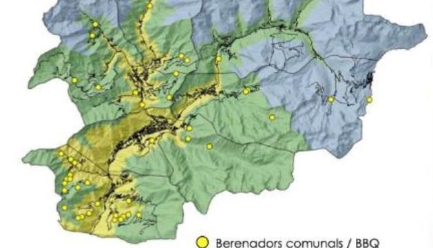 A les zones centrals del país els nivells s'han situat fins a nivells alts (3/5)