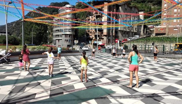 Zumba Kids a la Festa Major de Sant Julià