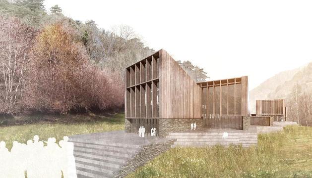 El projecte de Grifols que s'instal·larà a Ordino.