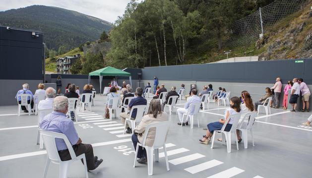 Inauguració de l'aparcament Font de Ferro de Ransol
