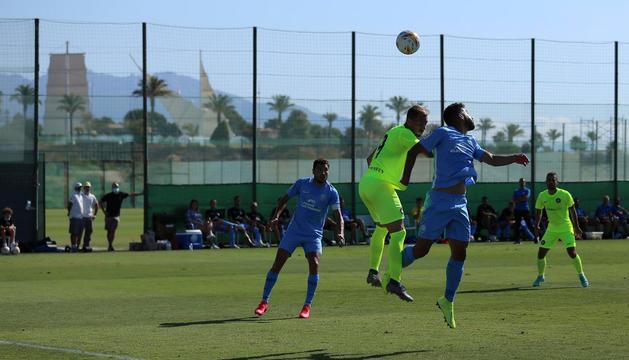 L'FC Andorra va perdre ahir a Benidorm davant l'Eivissa, de Segona Divisió A.