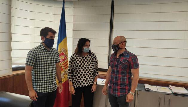 Representants del CFPA reunits amb Marín.