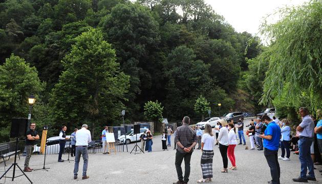 Reunió de poble a Bixessarri per explicar les obres a la CG-6.