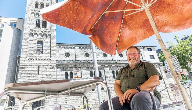Jordi Font té moltes aficions i es pren amb ganes la futura jubilació per dedicar-los temps a totes.