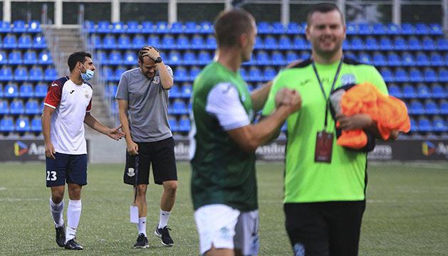 Albert Jorquera s'acomiada amb el cap ben alt.