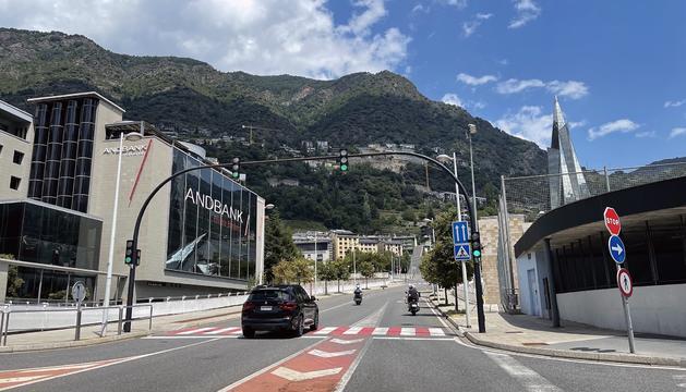 Tram del carrer Esteve Albert afectat per les obres