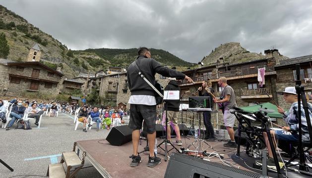 Concert a Canillo de Música al carrer