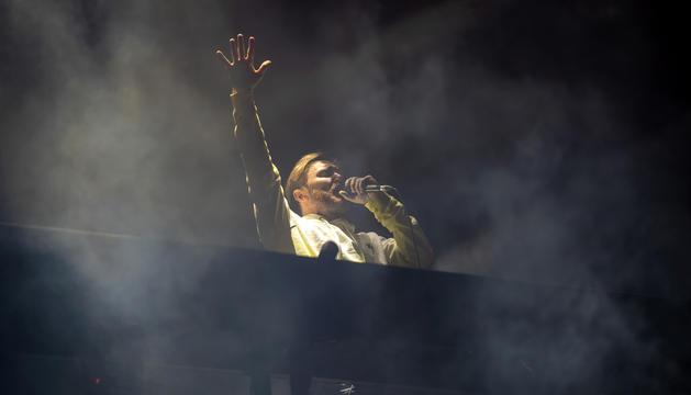 Comença el concert de Guetta