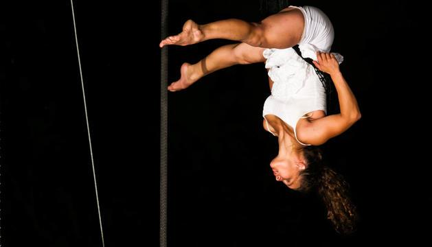 Les acrobàcies aèries tindran protagonisme a l'espectacle de circ