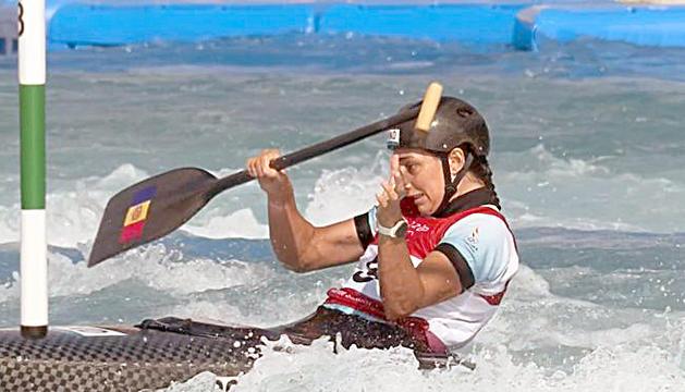 Mònica Doria va vorejar les finals de canoa i caiac a Tòquio.