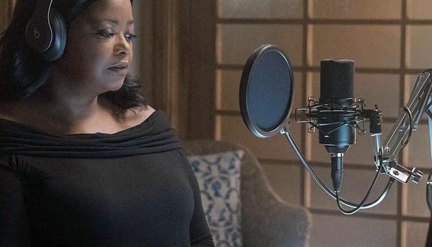 Octavia Spencer en un moment de 'Truth be told'.