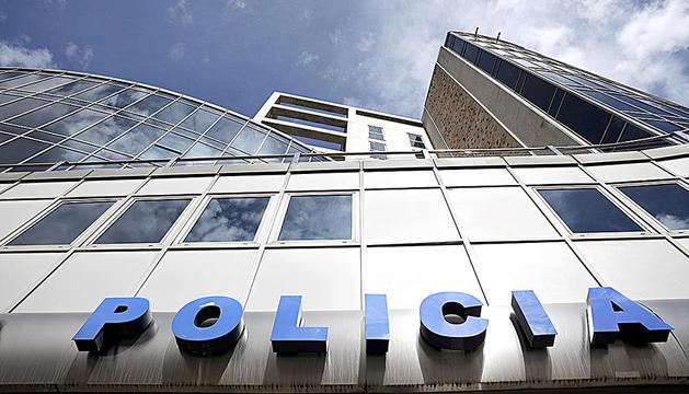 Despatx central de la policia.
