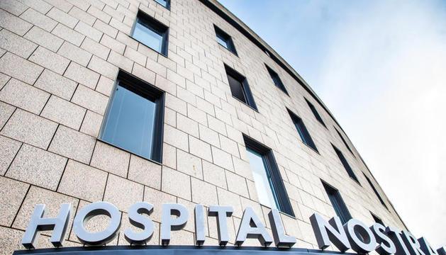 El finat estava ingressat a la planta Covid de l'hospital.