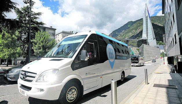 Bus a demanda d'Escaldes-Engordany.