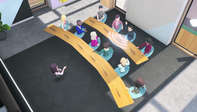 La plataforma també permet incorporar-se a la reunió des de l'ordinador directament, mitjançant una videotrucada