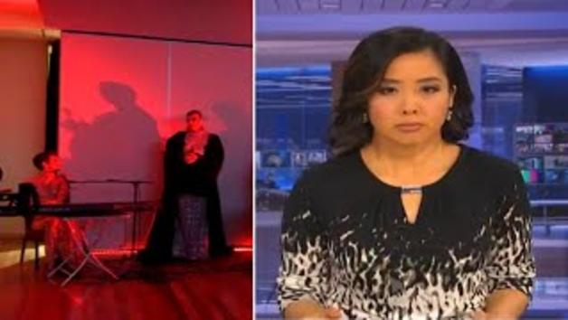 La cadena de televisió australiana ABC va emetre accidentalment escenes d'un ritual sa`tanic