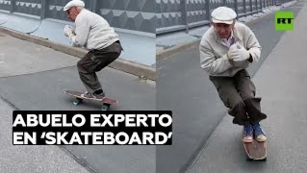 L'skater rus de 73 anys